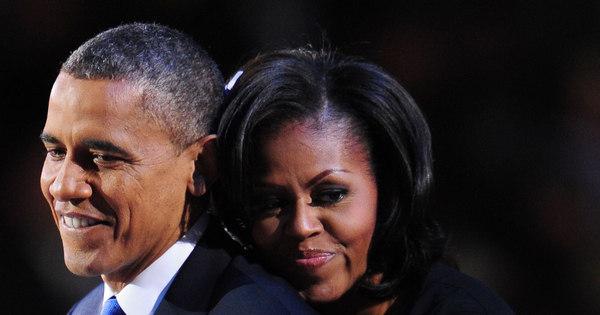 Obama e Michelle pretendem se separar, diz jornal americano ...