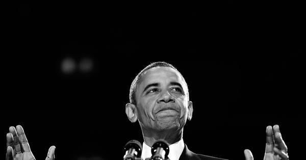NY Times: Otimismo contido e superstição no QG de Obama - Fotos ...