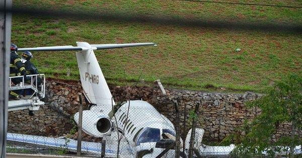 Após acidente com jatinho, polícia analisa imagens da pista de ...