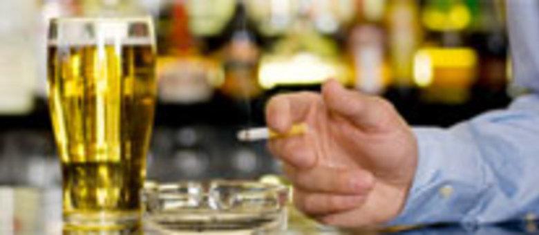 Oração em dependência de álcool