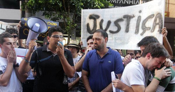 Em protesto, estudantes cobram responsabilidade do poder público ...
