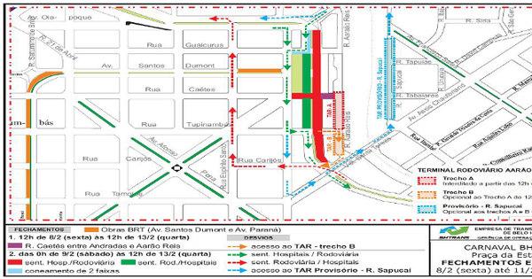 Trânsito fica fechado em vários pontos de BH para festividades de ...