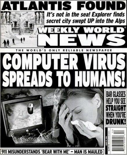 Reprodução/Weekly World News
