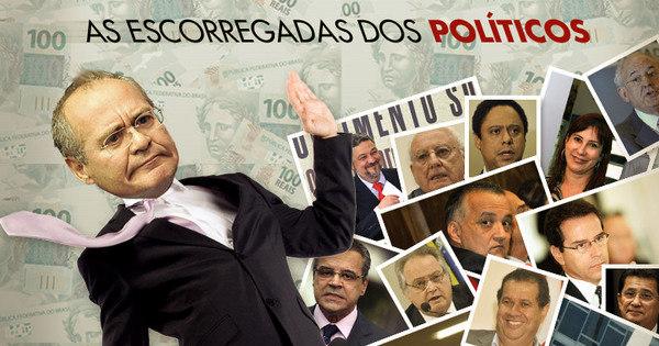 Renan Calheiros não foi o único a se envolver em escândalos; veja ...