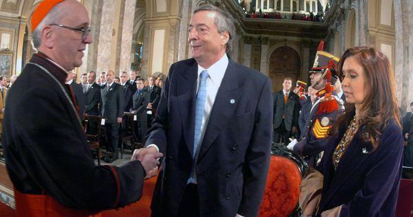 Novo papa manteve relações conturbadas com os Kirchner na ...