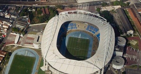 A exemplo do Engenhão, estádio recém-construído nos Estados ...