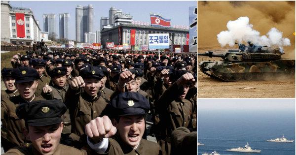 Conheça o poder de fogo da Coreia do Norte, que tem o 5º maior ...
