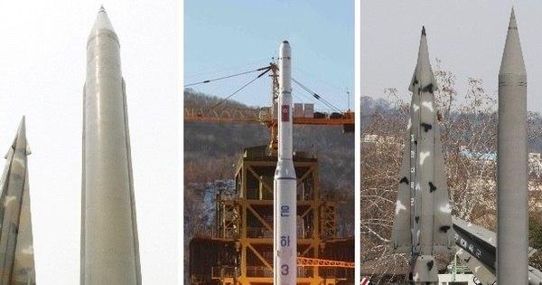 A Coreia do Norte é capaz de atingir os EUA? Conheça os mísseis ...