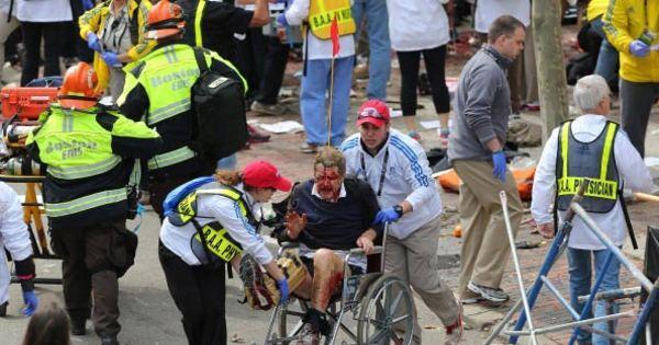 Duas explosões deixam mortos e feridos durante Maratona de Boston