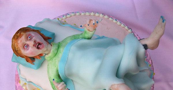 Bolos medonhos tocam terror em chás de bebê! - Fotos - R7 Humor