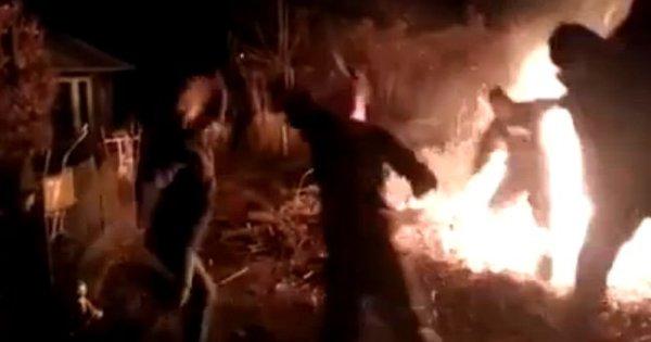 Engraçadão cai em fogueira ao fazer Harlem Shake - Notícias - R7 ...