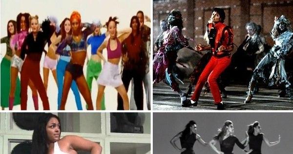 Relembre hits que ficaram famosos por causa da coreografia - Fotos ...