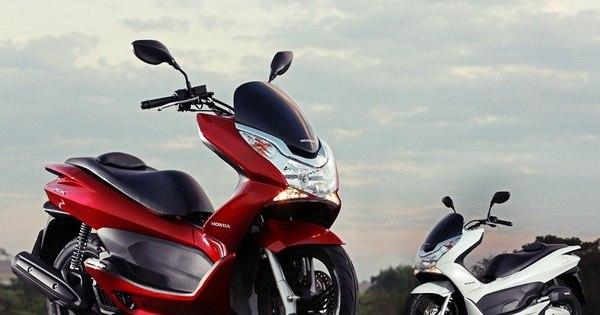Novas scooters Honda PCX e Yamaha Cripton Penélope Charmosa ...