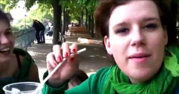 Vídeo mostra garota bebendo cerveja pela orelha - Notícias - R7 ...