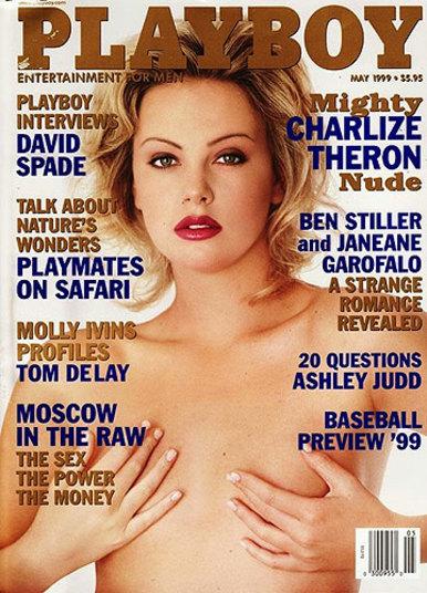 Charlize Theron Foi A Capa Da Playboy Americana De Maio