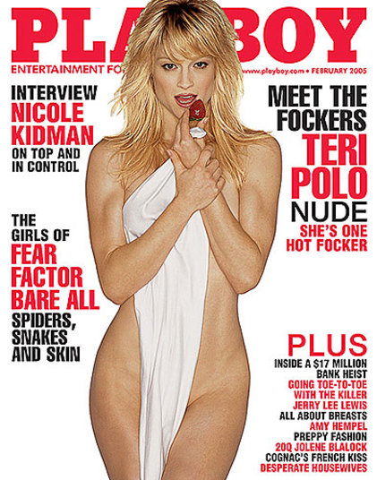 Modelo Teri Polo Foi A Capa Da Playboy Americana Em Fevereiro De