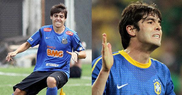 Clone de Kaká pode ser a salvação do Santos após saída de Neymar