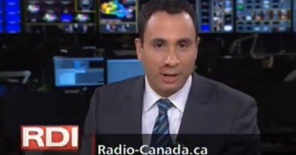 Apresentador de televisão sangra ao vivo durante jornal - Notícias ...