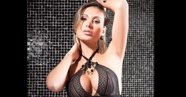 Andressa Urach faz ensaio sensual para divulgar Miss Bumbum nos ...