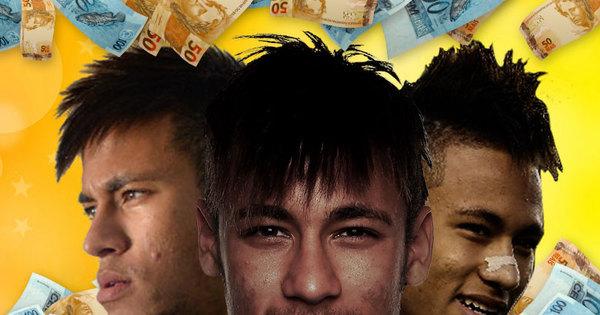 Neymar torra milhões com cabelo, mansões e carros, mas fatura até ...