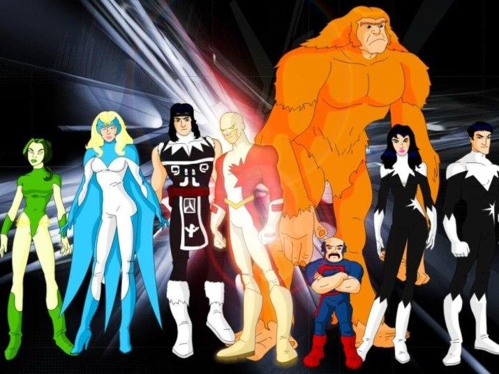 O supergrupo Tropa Alfa, da Marvel, reúne Guardião, Pigmeu, Sasquatch, Murmúrio e muitos outros