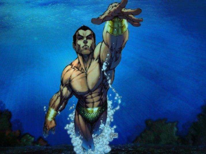 Vindo da mitológica Atlântida, o príncipe Namor também não ganhou uma adaptação para as telonas