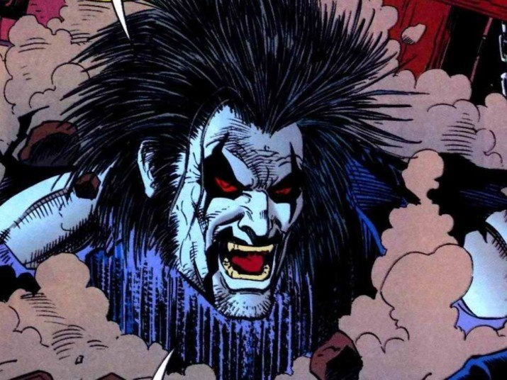 Na verdade um anti-herói, o Lobo, da DC Comics, é um alienígena que atua como caçador de recompensas