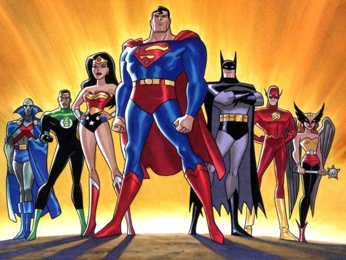 A Liga da Justiça das Américas, formada por Super-Homem, Batman, Aquaman, Mulher-Maravilha, Flash e Lanterna Verde, ainda não ganhou uma adaptação para as telonas