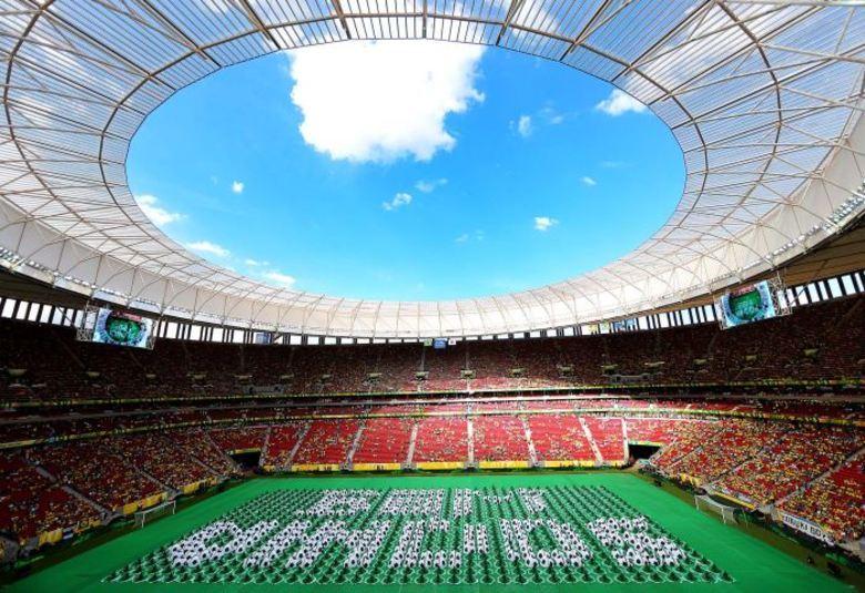 Os detalhes são lindos e colocam a alegria do Brasil nas comemorações