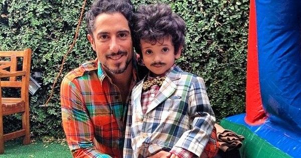 """Filho de Marcos Mion faz de cara bravo: """"Vê se eu tô feliz?""""; veja o ..."""