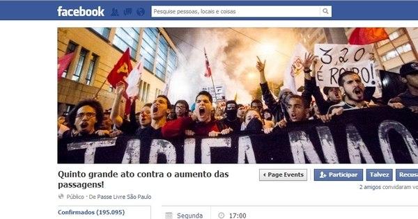 """""""Deve ser o maior até agora"""", diz militante do Movimento Passe ..."""