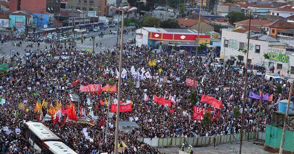 Nova onda de protestos toma conta das ruas do Brasil e do mundo ...