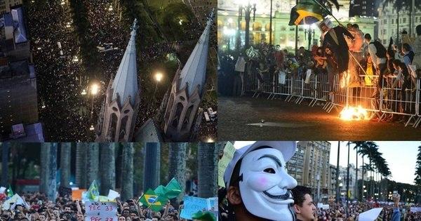 Protestos tomam ao menos 9 capitais nesta quinta - Notícias - R7 ...