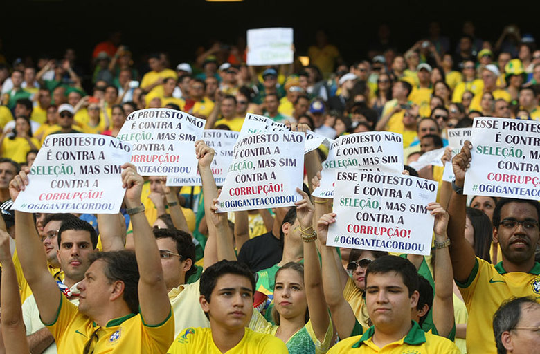 Abertura da Copa no Brasil 2014 a Abertura da Copa Mundial