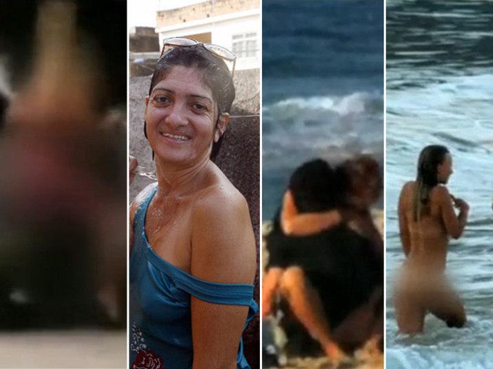 Um cinegrafista amador registrou o momento em que um casal fez sexo à luz do dia no meio da praça da Cruz Vermelha, no centro do Rio de Janeiro (à esquerda na imagem). A situação fez lembrar outros flagrantes inusitados na cidade. Relembre os casos na galeria