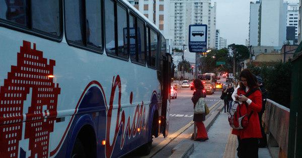 Mais de vinte ruas são liberadas para circulação de fretados a partir ...