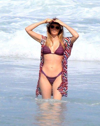 Sempre que vai à praia, Susana garante umshow de imagens