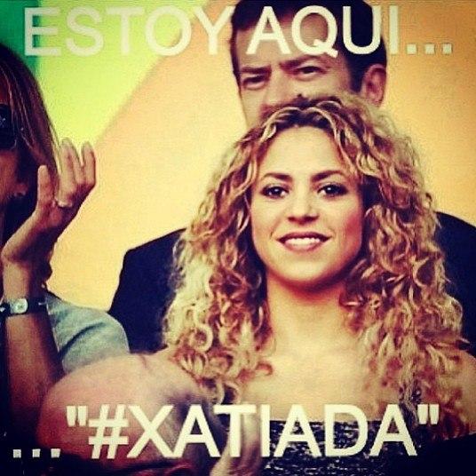 A música Estoy Aqui, hit que tornou Shakira conhecida no mundo todo, também foi usada contra ela