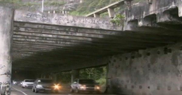 Operário cai do elevado do Joá durante obra de reforço - Notícias ...