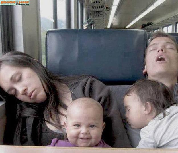 Não tem problema se o resto de sua família continua dormindo...