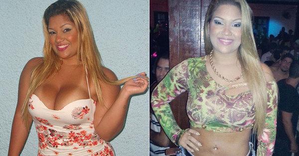 Mulher Filé emagreceu 15 kg antes de entrar em A Fazenda ...