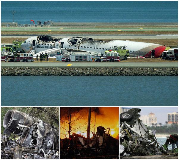 Um grave acidente de avião envolvendo uma companhia aérea asiática parou o Aeroporto Internacional de San Francisco no sábado (6) no Estado da Califórnia nos Estados Unidos.  Embora acidentes aéreos sejam raros nos Estados Unidos, segundo o jornal americano New York Daily News, desde o 11 de setembro de 2001, muitas pessoas já morreram em desastres envolvendo aeronaves