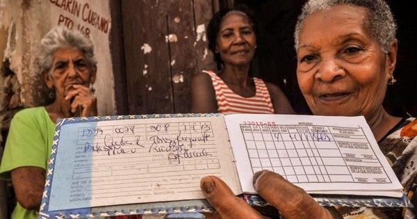 A 'caderneta' do racionamento cubano completa 50 anos cada vez ...