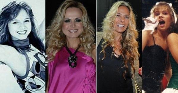 Eliana e Galisteu já foram cantoras. Você se lembra dos grupos ...