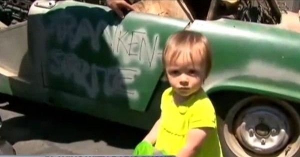 Criança de dois anos compra carro pela internet enquanto brincava ...