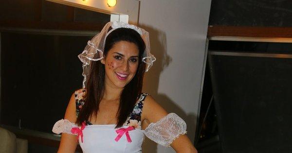 Fernanda Paes Leme vira noiva sexy em festa junina - Fotos - R7 ...
