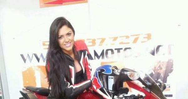 Para motociclistas, acidente da motovelocista Vanessa Daya foi ...