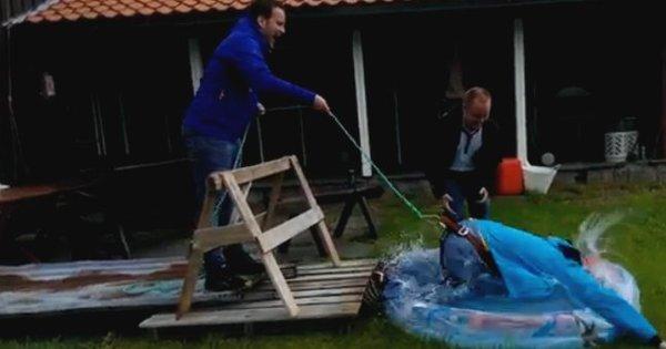 Vídeo com salto falso no bungee jump vira hit na internet - Notícias ...
