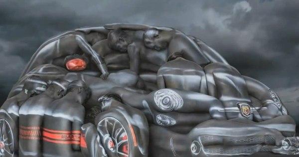 Corpos humanos se transformam em carros no novo comercial ...