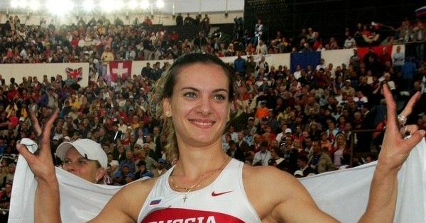 Bicampeã olímpica, Yelena Isinbayeva é promovida a comandante ...